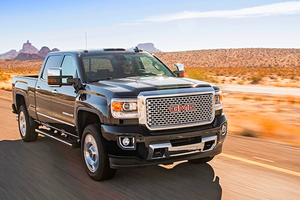 GMC Sierra USA November 2014. Picture courtesy of motortrend.com