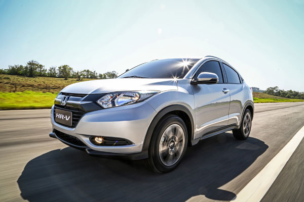 Honda HR-V Thailand November 2014