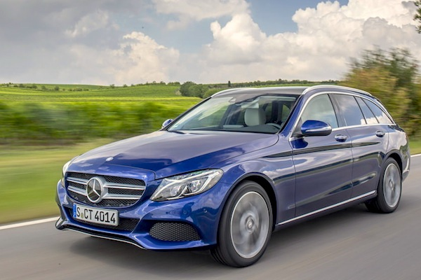 Mercedes C-Class Europe December 2014. Picture courtesy of largus,fr