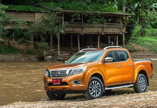 Nissan Navara Thailand October 2014. Picture courtesy of caradvice.com.au