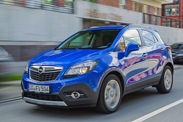 Opel Mokka Latvia June 2016. Picture courtesy of autobild.de