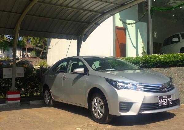Toyota Corolla Yangon