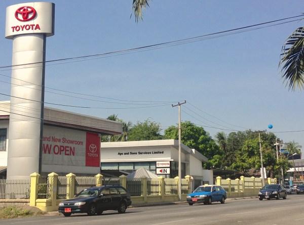 Toyota Showroom Yangon 1