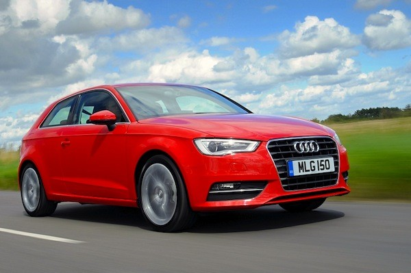 Audi A3 UK 2014