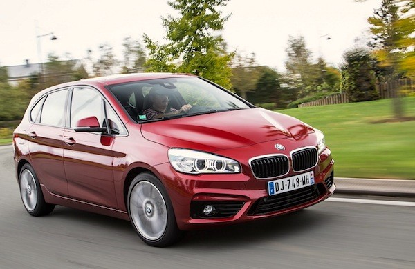 BMW 2 Series Active Tourer Italy December 2014. Picture courtesy of largus.fr