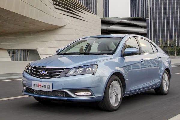 Geely Emgrand EC7 China 2014
