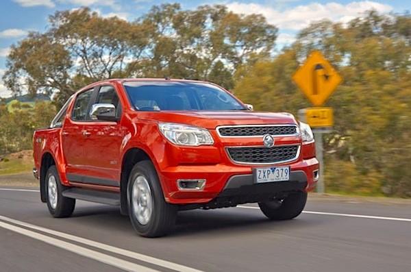 Holden Colorado NZ 2014. Picture courtesy of caradvice.com.au