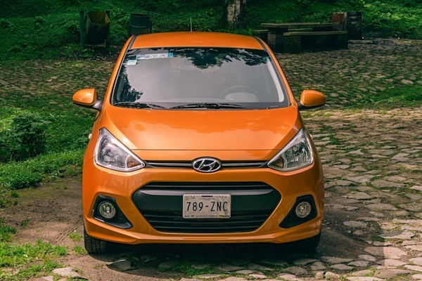 Hyundai Grand i10 Mexico 2014. Picture courtesy of autocosmos.com.mx