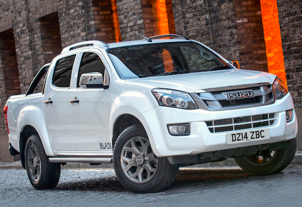 Isuzu D-Max New Caledonia October 2015