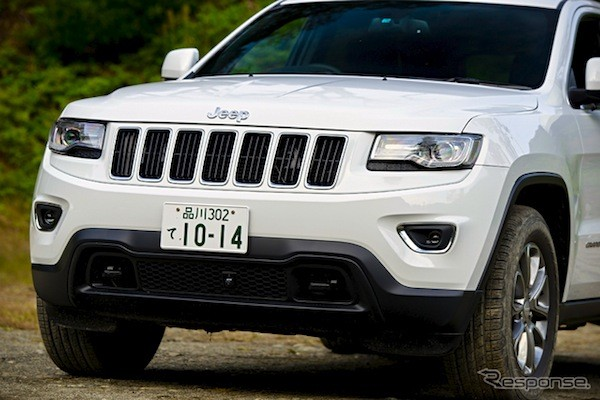 Jeep Grand Cherokee Japan 2014. Picture courtesy of response.jp