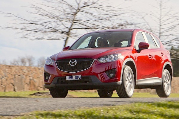 Mazda CX-5 Australia 2014. Picture courtesy of caradvice.com.au