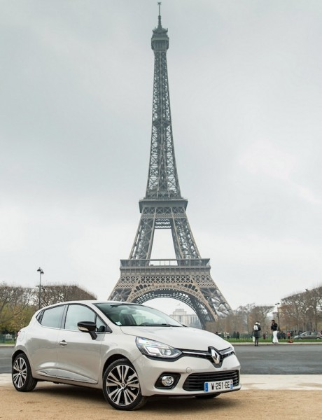 Renault Clio IV France 2014. Picture courtesy of largus.fr