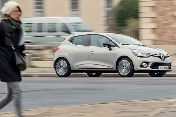 Renault Clio Portugal 2014. Picture courtesy of largus.fr