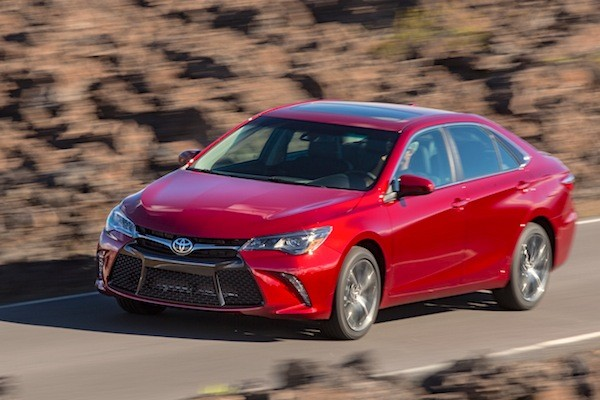 Toyota Camry USA 2014. Picture courtesy of motortrend.com