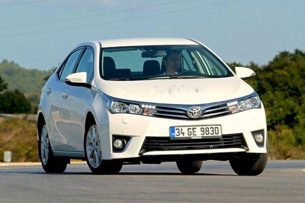 Toyota Corolla Mauritius 2014. Picture courtesy of otomobil.com.tr