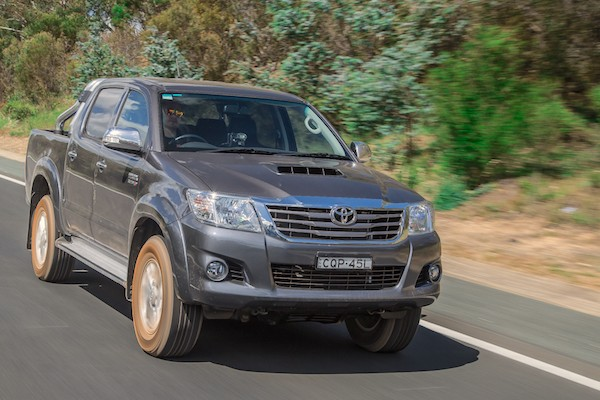 Toyota Hilux Australia 2014. Picture courtesy of caradvice.com.au