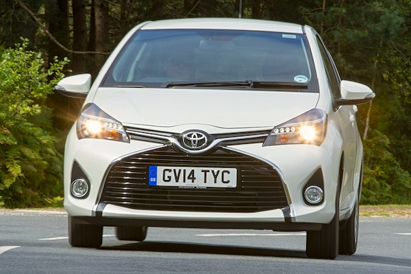 Toyota Yaris Ireland June 2016