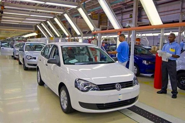 VW Polo Vivo South Africa 2014. Picture courtesy of claremont.co.za