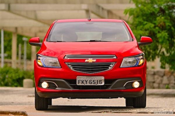 Chevrolet Onix Brazil January 2015