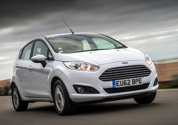 Ford Fiesta Czech Republic January 2015