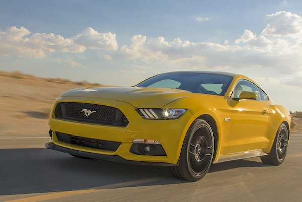 Ford Mustang USA March 2015. Picture courtest motortrend.com