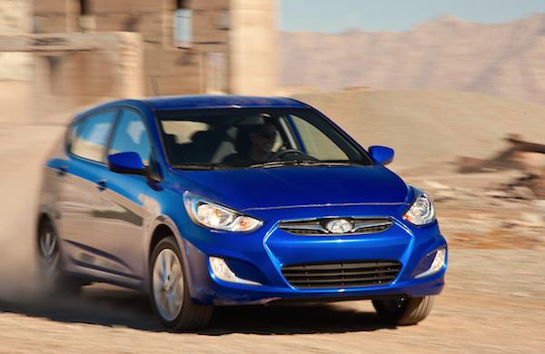 Hyundai Accent Jordan 2015. Picture courtesy motortrend.com
