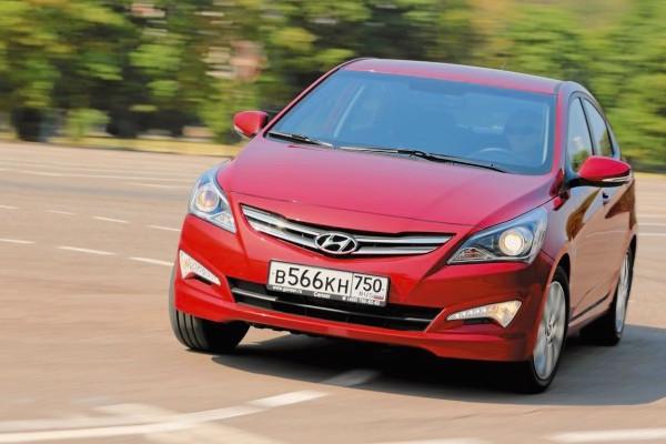 Hyundai Solaris Russia June 2015. Picture courtesy zr.ru