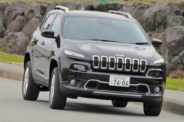 Jeep Cherokee Japan 2014. Picture courtesy autoc-one.jp