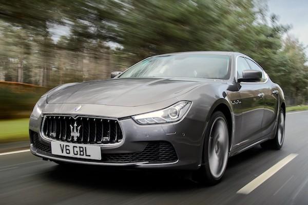 Maserati Ghibli Europe 2014