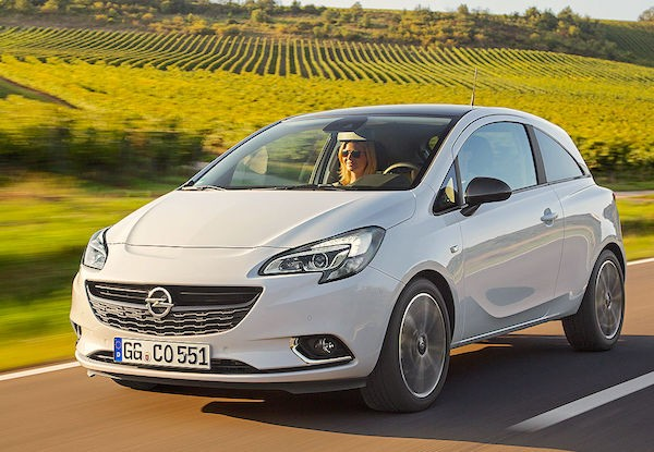 Opel Corsa Spain February 2015. Picture courtesy autobild.de