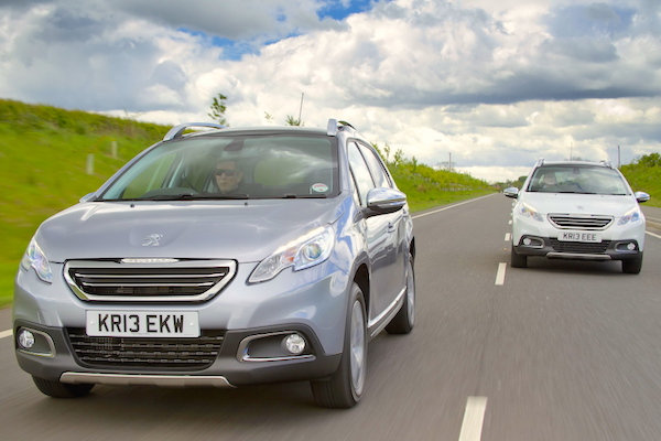 Peugeot 2008 UK 2014