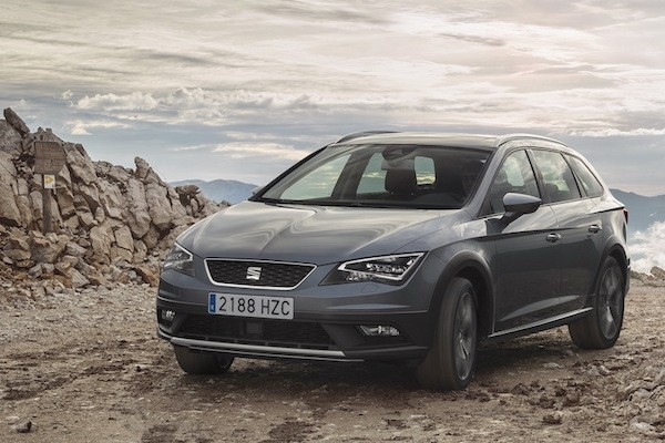 Seat Leon Europe 2014. Picture courtesy largus.fr