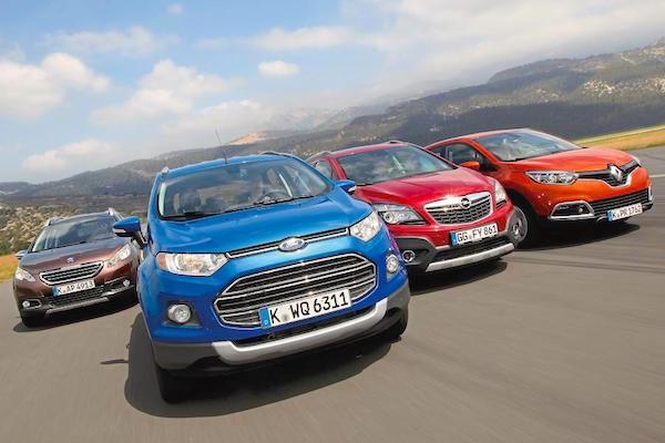Small SUV Europe 2014. Picture courtesy of autozeitung.de