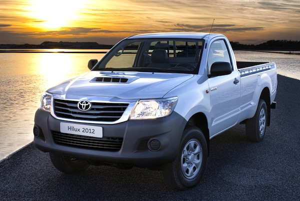 Toyota Hilux Paraguay 2014
