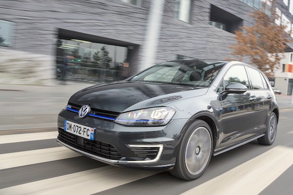 VW Golf GTE Bosnia February 2015. Picture courtesy largus.fr
