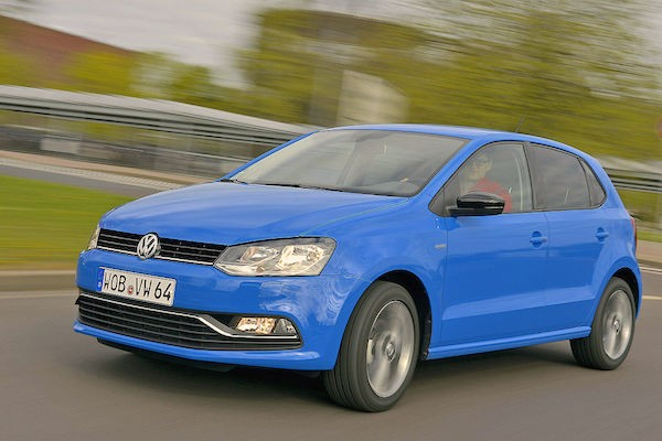 VW Polo Greece June 2015. Picture courtesy autobild.de