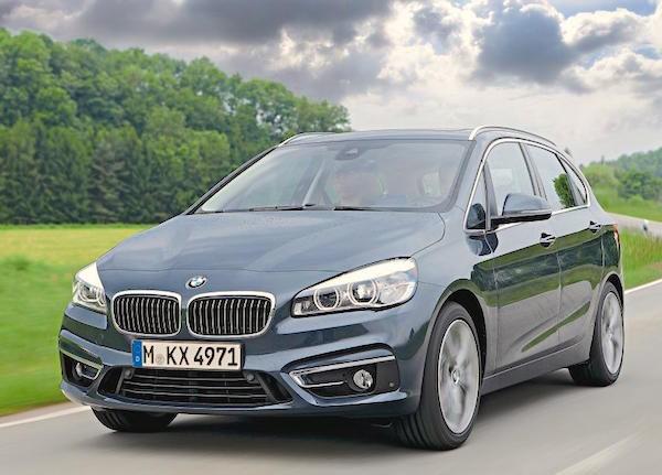 BMW 2er Active Tourer Europe February 2015. Picture courtesy autozeitung.de