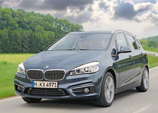 BMW 2er Active Tourer Germany February 2015. Picture courtesy autozeitung.de