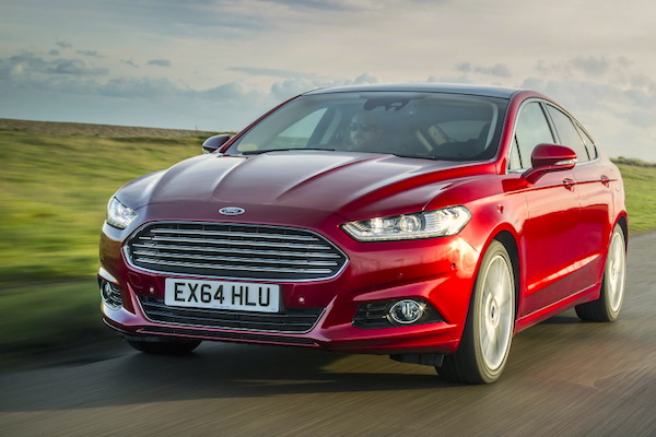 Ford Mondeo Ireland August 2015