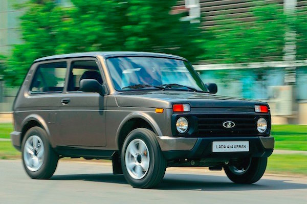 Lada 4x4 Urban Ukraine March 2016. Picture courtesy zr.ru