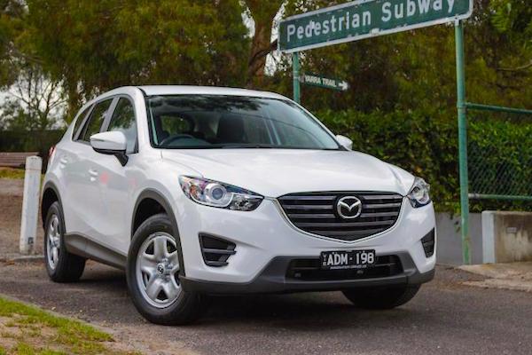 Mazda CX-5 Australia February 2015. Picture courtesy caradvice.com.au