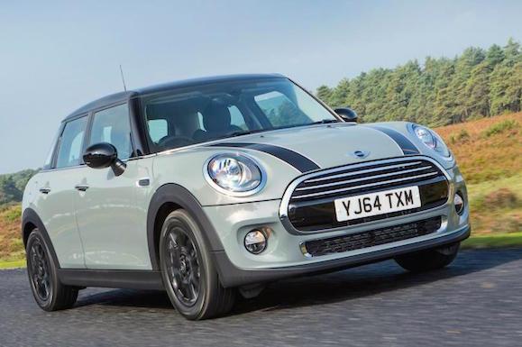 Mini UK February 2015. Picture courtesy autocar.co.uk
