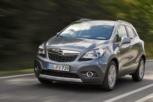 Opel Mokka Italy February 2015