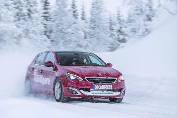 Peugeot 308 Sweden February 2015. Picture courtesy vibilagare.se