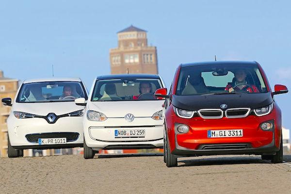 Renault Volkswagen BMW Europe February 2015. Picture courtesy autoevolution.com