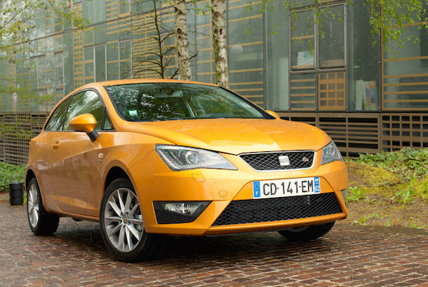 Seat Ibiza Spain February 2015. Picture courtesy largus.fr