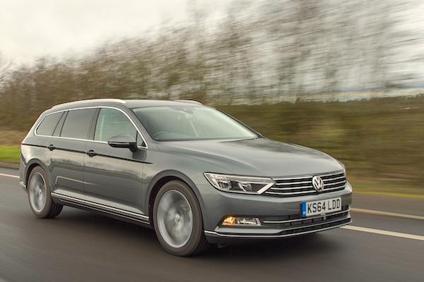 VW Passat Ireland February 2015