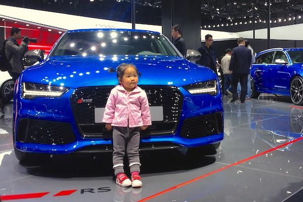 0. Audi still the sweetheart