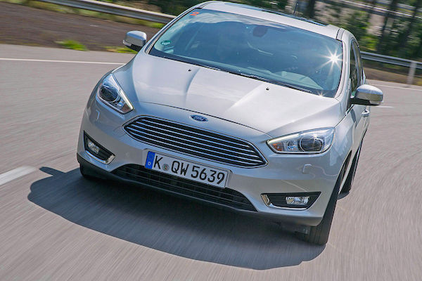Ford Focus Latvia May 2015. Picture courtesy autobild.de