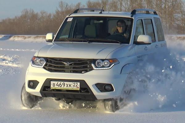 UAZ Patriot Kazakhstan March 2015b